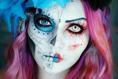 maquiagem, maquiagem dia das bruxas, maquilhagem, maquilhagem dia das bruxas maquiagem halloween, halloween makeup