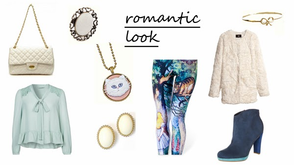 5 ways to wear print leggings romantic look