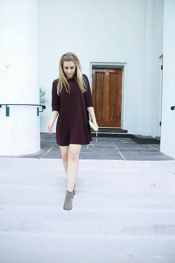 SWING INTO FALL: BURGUNDY SWING DRESSES AND LIFE LESSONS