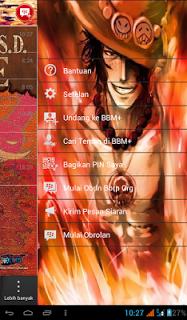 BBM Mod Portgas D Ace Apk Terbaru