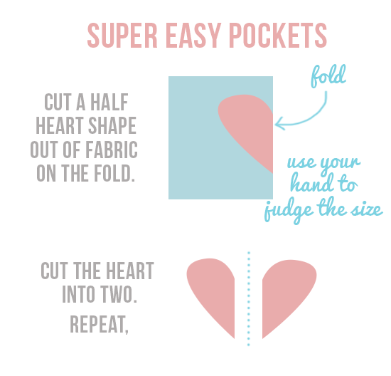 sew pockets in 5 minutes