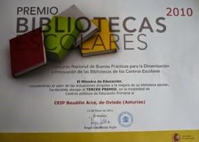 Premio Nacional en 2010