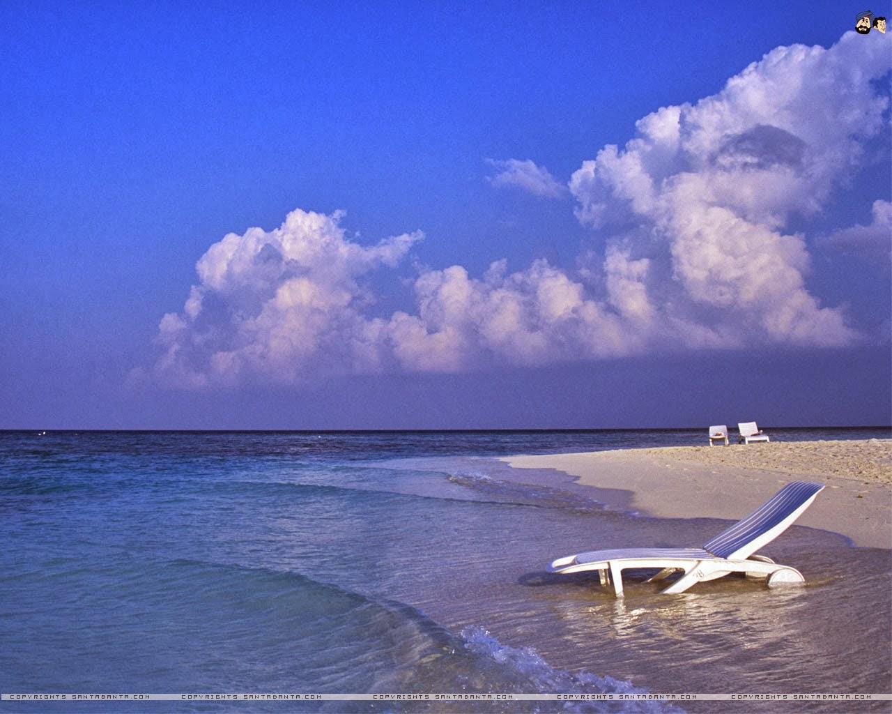 Gambar Wallpaper Laptop Pemandangan Pantai