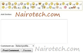 How To Add Yahoo Smileys To Blogger Threaded Comments