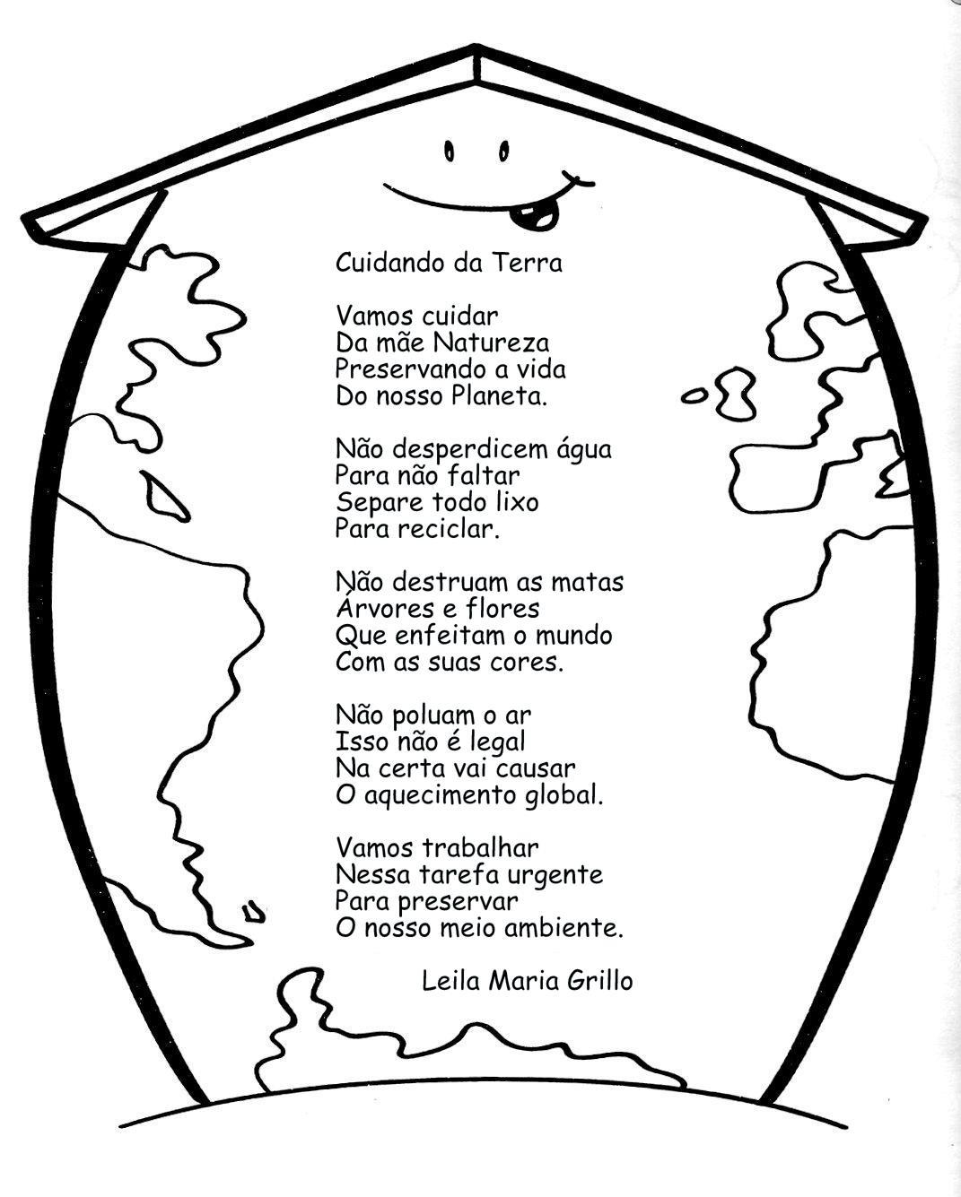 Desenhos Do Planeta Terra Para Imprimir