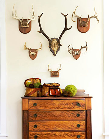 Vintage Goodness 1 0 Decorating With Deer Antlers New