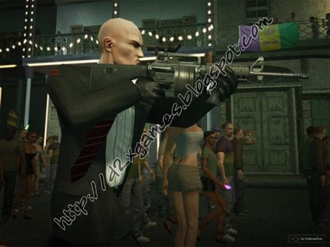 Free Download Games - Hitman Blood Money