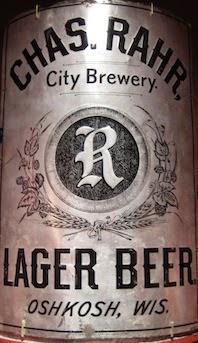 Rahr Brewery Corner Sign