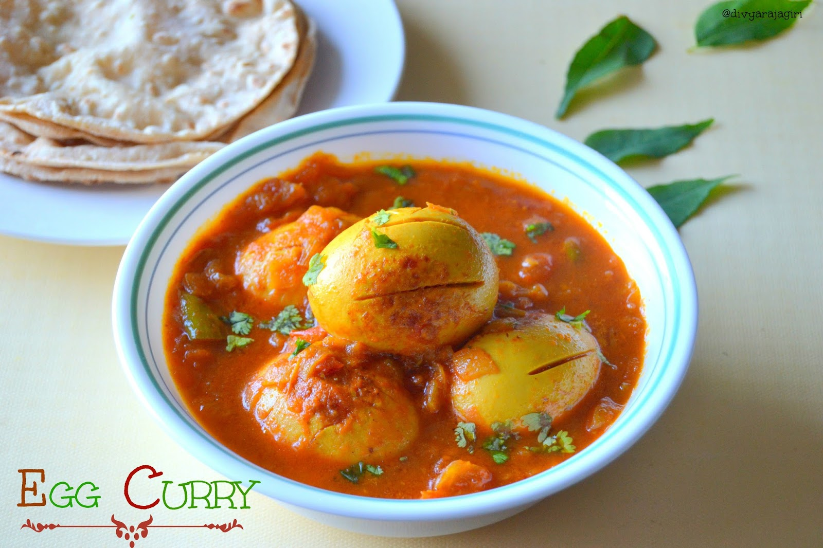 divya's kitchen diaries: SIMPLE EGG CURRY
