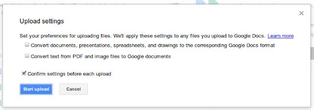 Google Drive Convertions