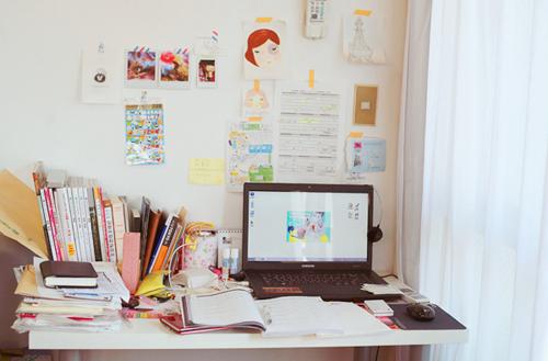 Pink e Paetê Inspiração Mesas de estudos ~ Como Fazer Uma Mesa De Estudo Para Quarto