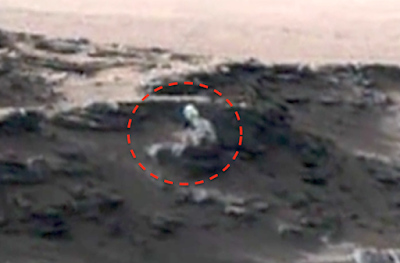 Creepy Alien Figure Seen On Mars 2015, UFO Sightings