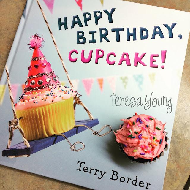Happy Birthday Cupcake preschool picture books Terry Border