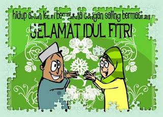 SMS Idul Fitri