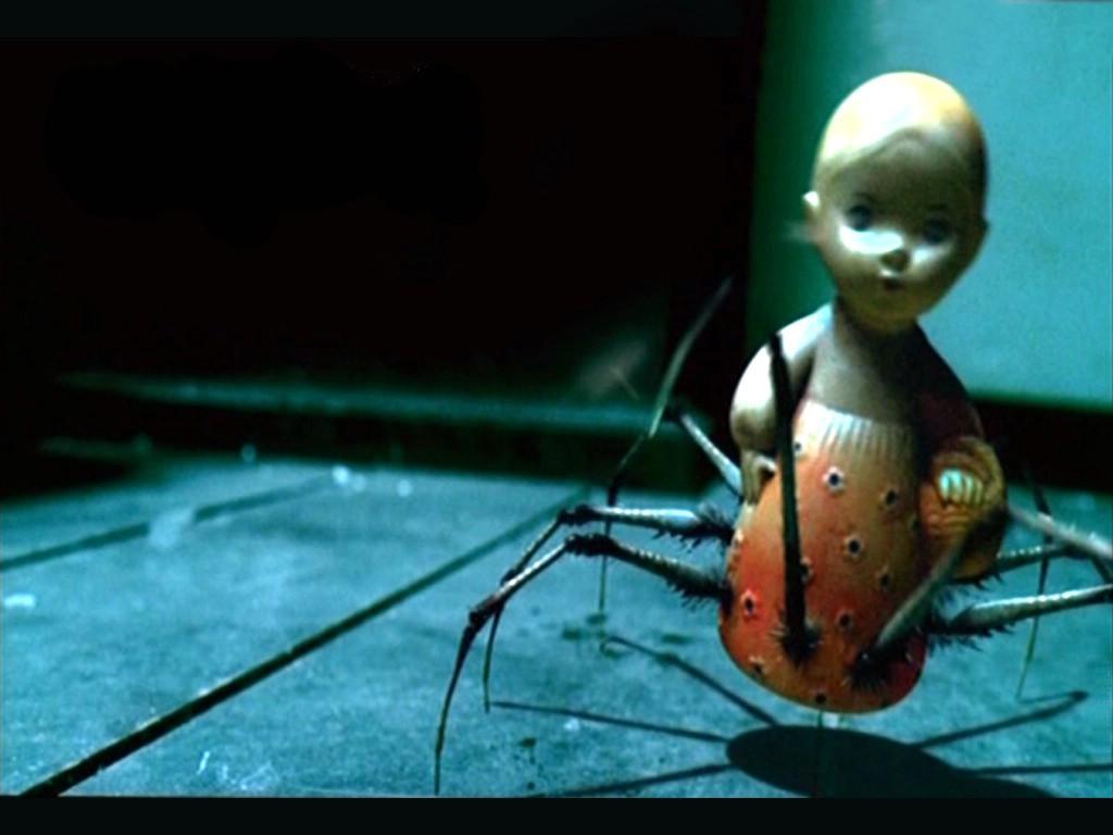 Spider Doll Dark Gothic Wallpaper