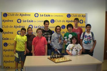 Premiados en el I Torneo Aperturas Anand