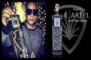 Daddy Yankee y tequila Cartel