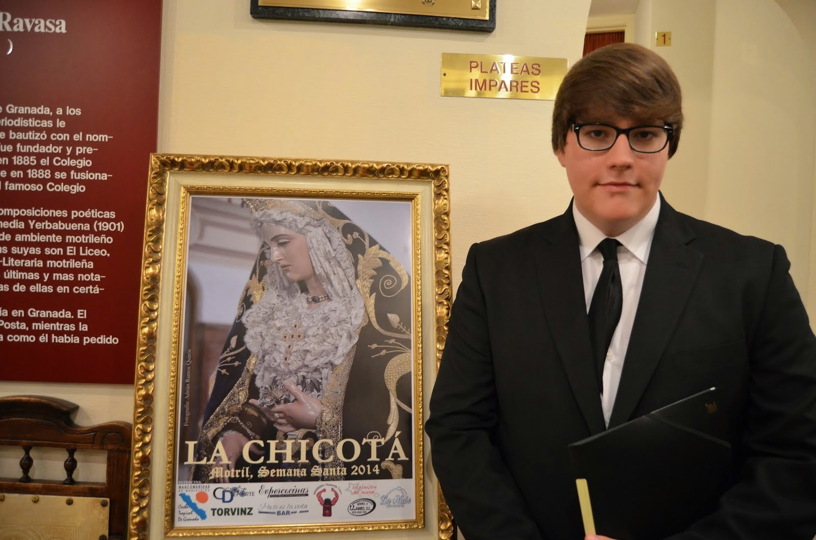 Cartel de La Chicotá 2014