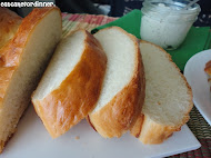Soft &amp; Chewy French Bread with Garlic Spread