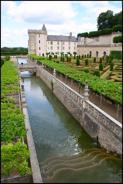 Chateau Villandry France June 2011