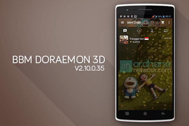 BBM Doraemon 3D V2.10.0.35