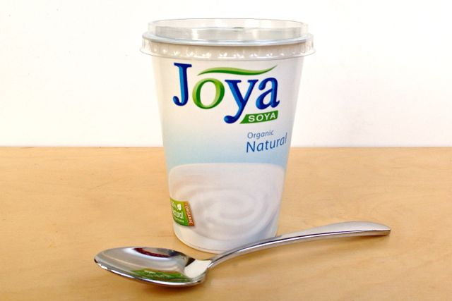 Joya Soya Natural Yoghurt is Vegan