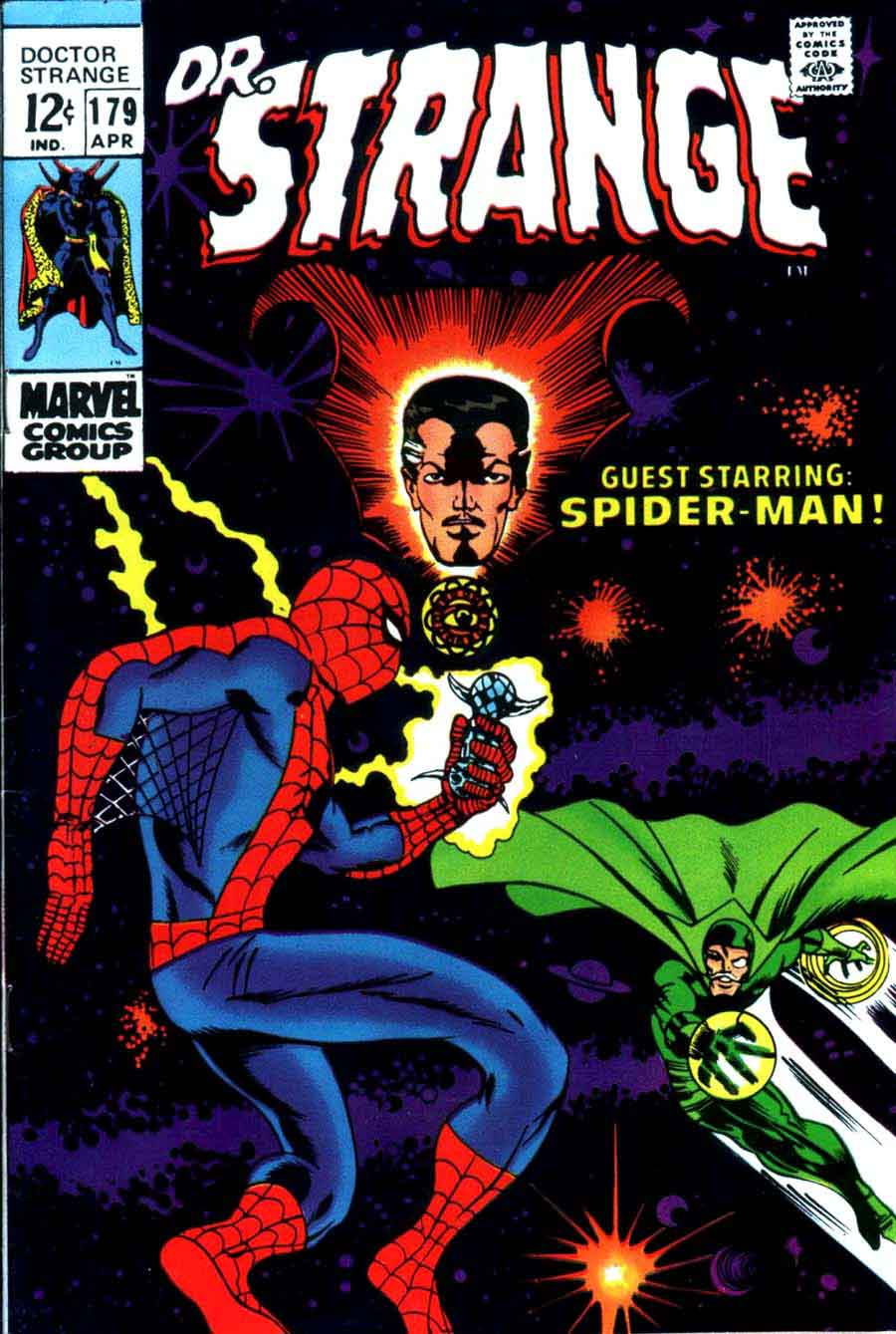 Image result for Spiderman and doctor strange cover