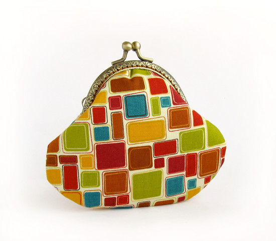 кошелек, geometric purse