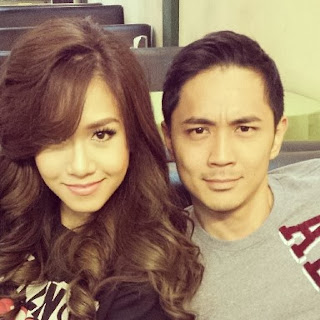 Rachelle Ann Go and Slater Young
