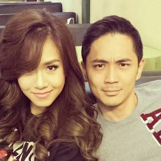 Rachelle Ann Go and Slater Young