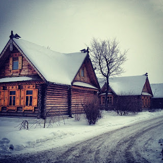 Gambar Musim Salji di Moskow, Russia