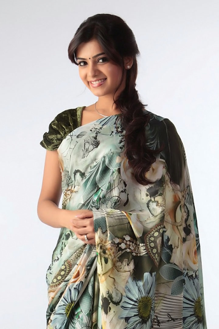 Gorgeous Samantha ruth prabhu latest awesome looking photo shoot in saree-HQ-Photo-11