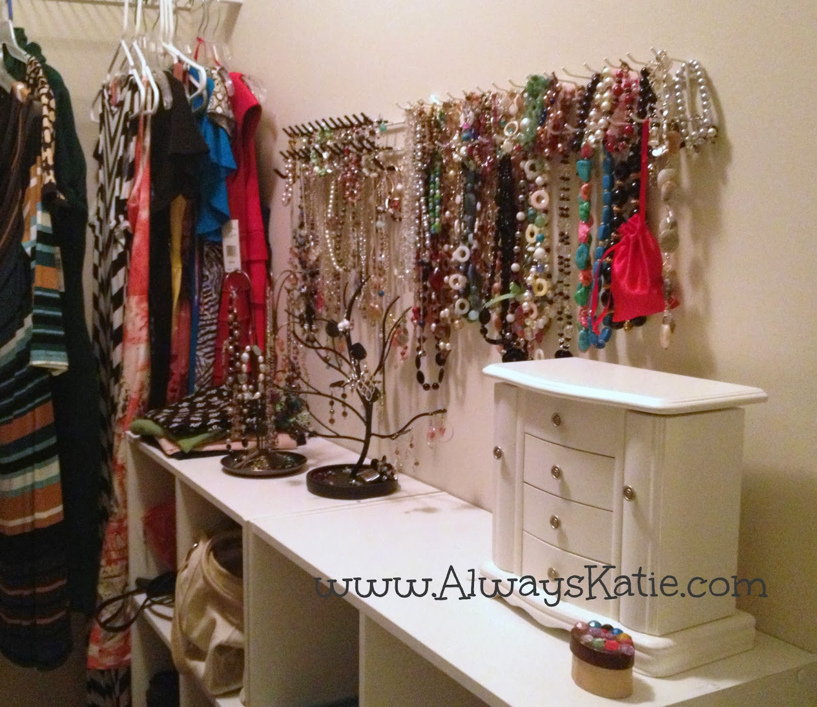 Always Katie Jewelry Organization from a Jewelry Hoarder