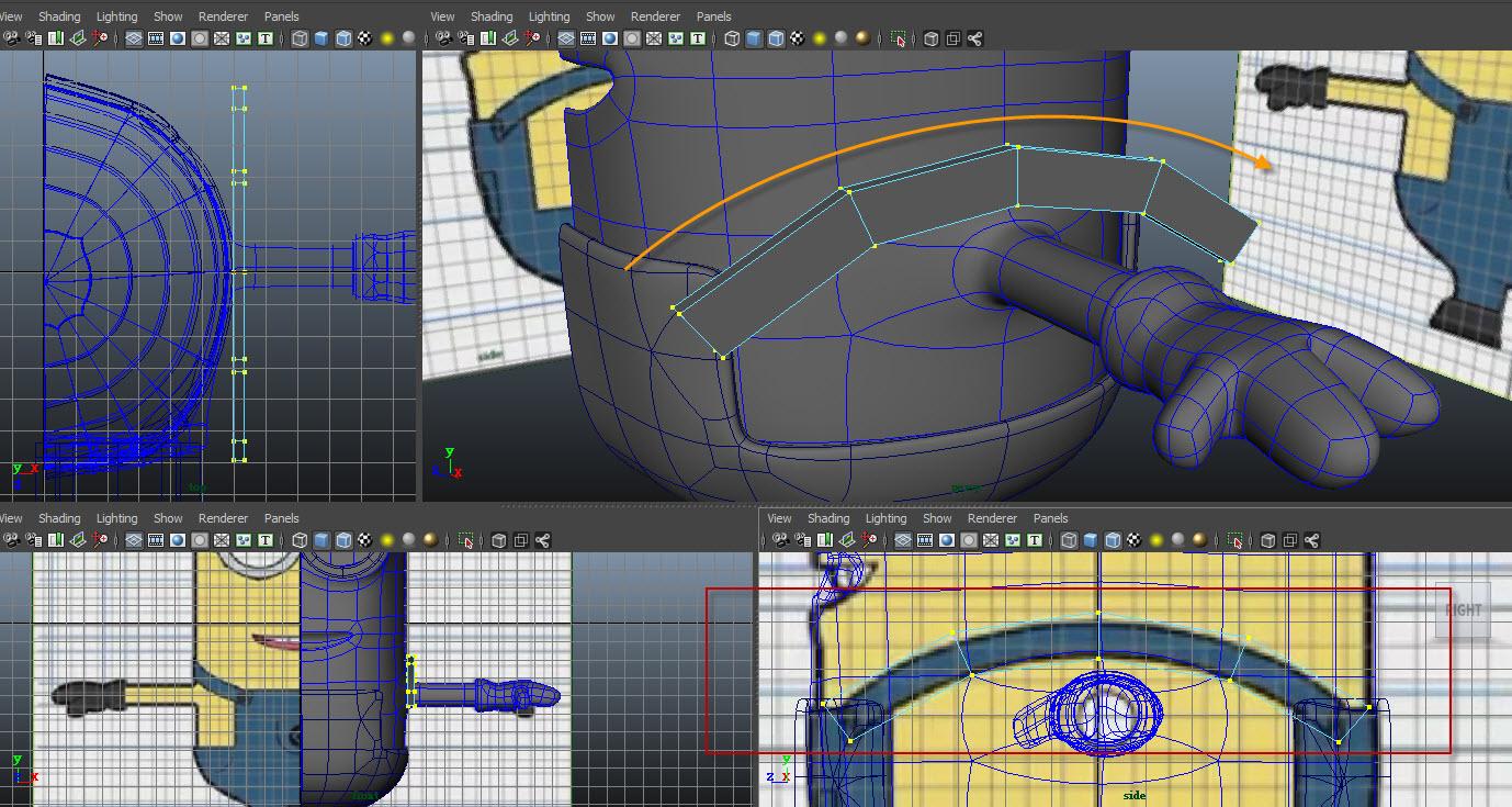 Modeling belt 02
