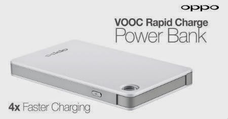 VOOC, Power Bank Persingkat Waktu Charging