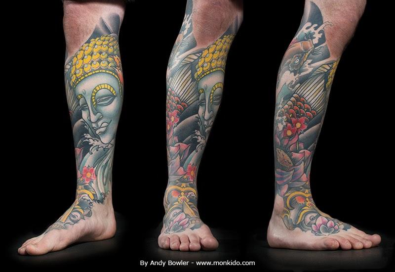 Monki do tattoo studio october 2013 for Leg sleeves tattoos