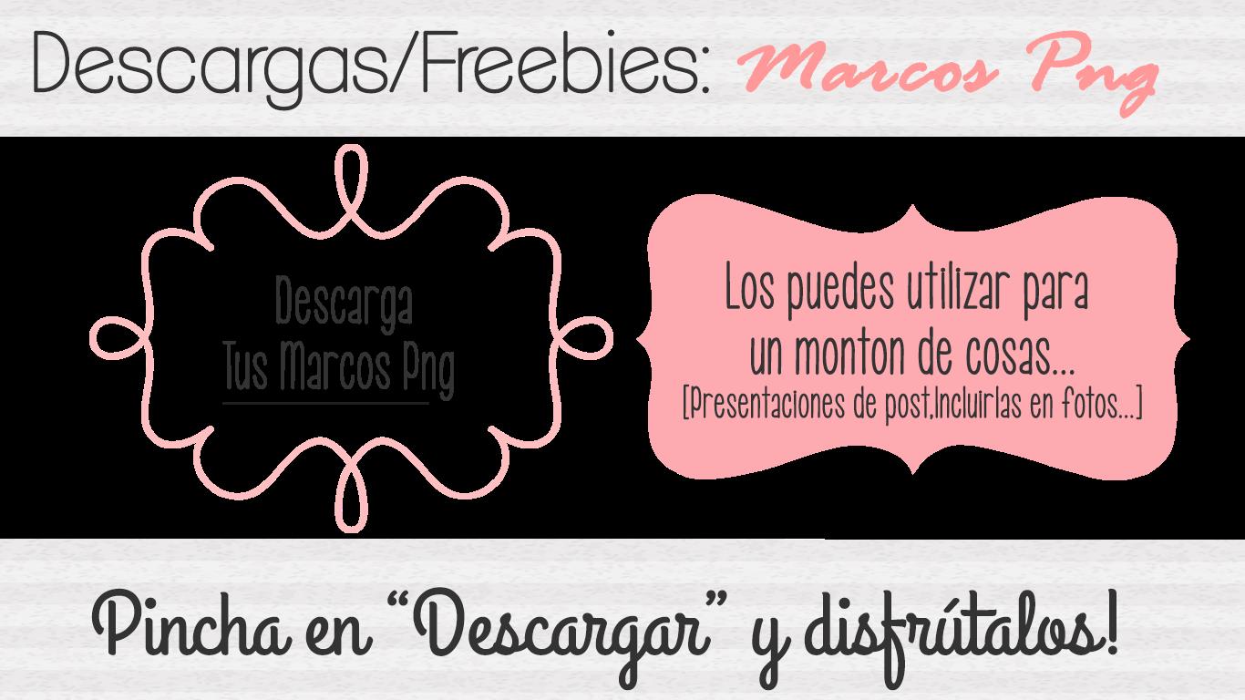 Descargar marcos png para fotos presentaciones photoshop Blogger