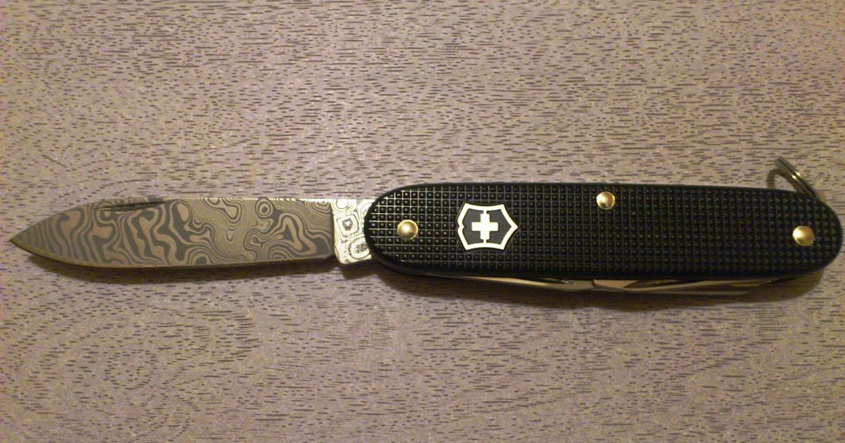 Mario S Swiss Army Knives Victorinox Damascus Knives