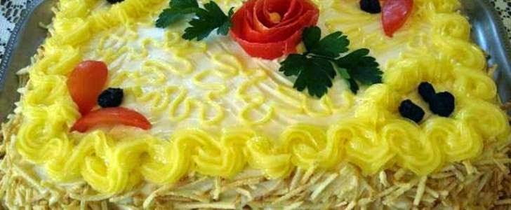 #receita de #torta #salgada #decorada