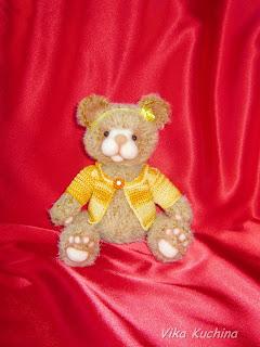мишка тедди, медведь, авторские игрушки, игрушки ручной работы, крючком