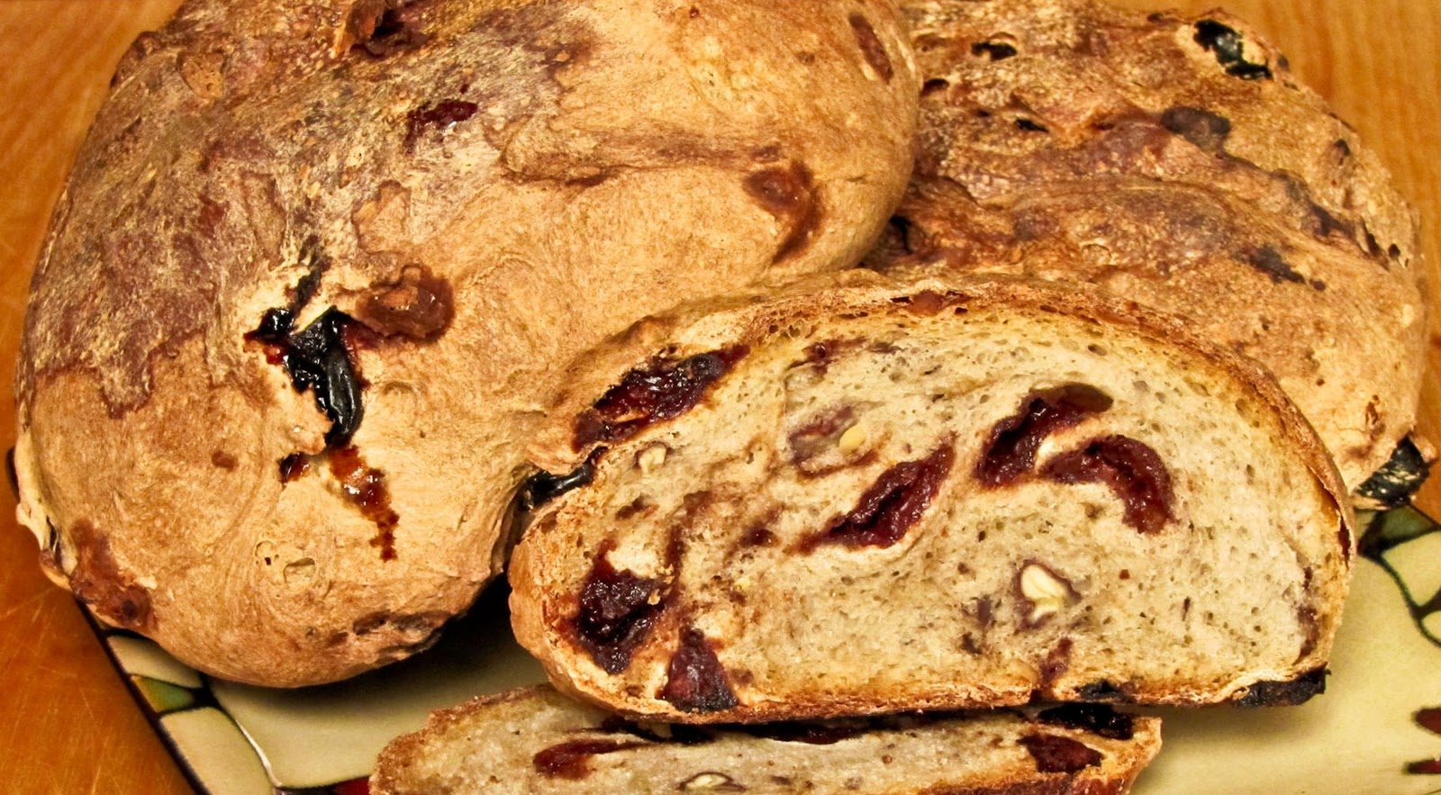 OnTheMove-In the Galley: Sour Cherry Lemon Sourdough Bread ...