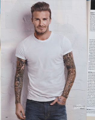 David Beckham New Pic