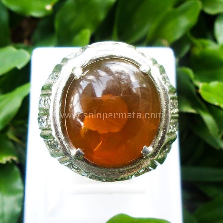 Cincin Batu Permata Fire Opal - SP560