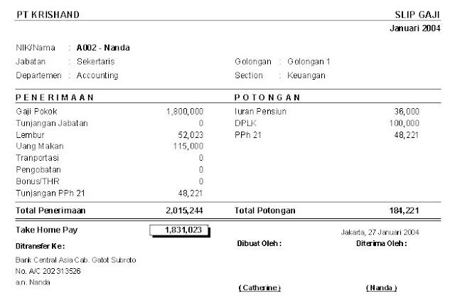 contoh slip gaji di malaysia downlllll