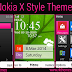 Nokia X Style Theme For Nokia X2-00,X2-02,X2-05,X3-00,C2-01,2700,206,301,6303,6300,2730,2710 240*320 Devices
