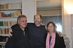 con Delphine y Arthur Thomassin
