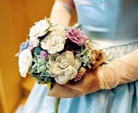 свадебные букеты из бисера.