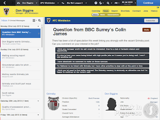 FM14 Job speculations and manager interests