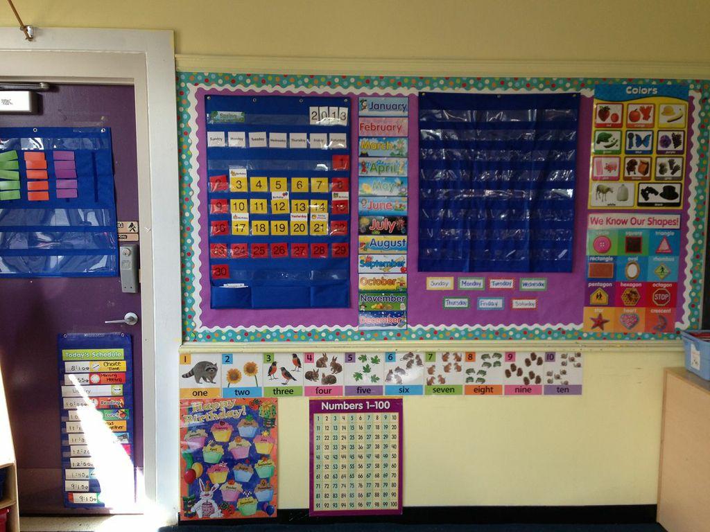 Kindergarten Classroom Calendar Wall : Ms sport s kindergarten journey