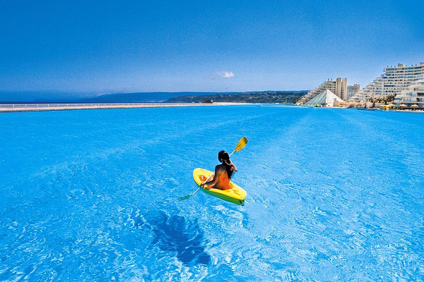 Popular world news world 39 s prettiest hotel pools - Where is the worlds largest swimming pool ...